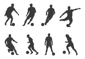 Soccer Player Vectors - Free vector #405481