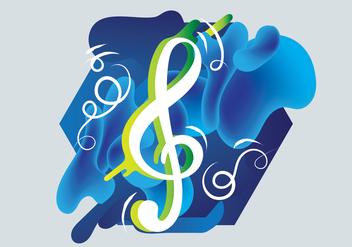 Free Violin Key Vector - Kostenloses vector #405751