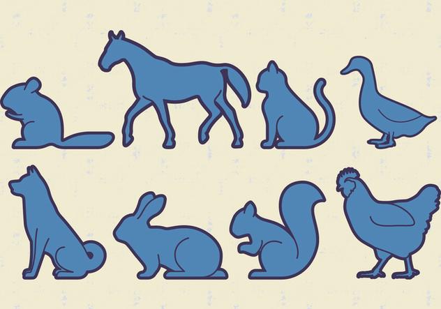 Animals Pets Vector - Free vector #405831