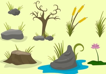 Free Swamp Vector - Free vector #406151