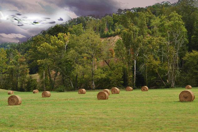 Drivin round bales (3) copy - image #406211 gratis