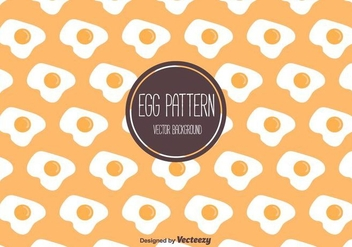 Egg Pattern Vector - Free vector #406381