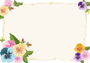 Pansy Color Pattern Background - vector gratuit #406391