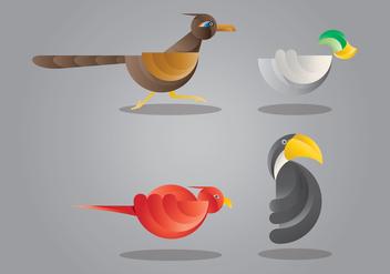Roadrunner Bird Illustration - Free vector #407041