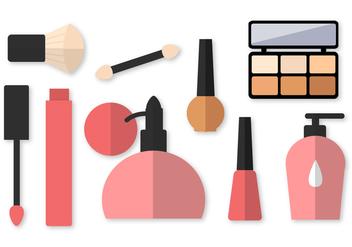 Free Cosmetics Vector - Kostenloses vector #407291