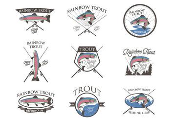 Free Rainbow Trout Vector - Kostenloses vector #407481