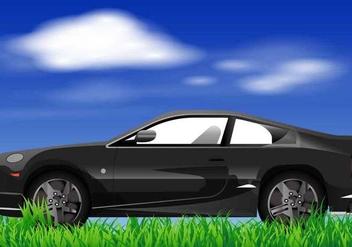Black Prius Of Vector - Free vector #407761