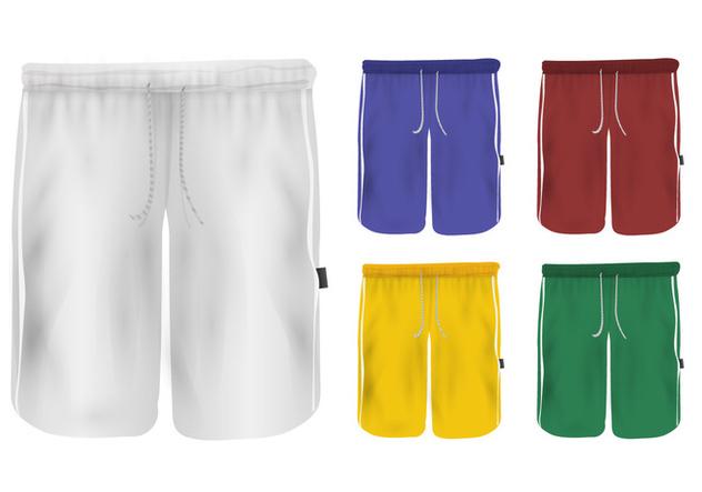 Set Of Sweatpants Blank Design - vector #407771 gratis
