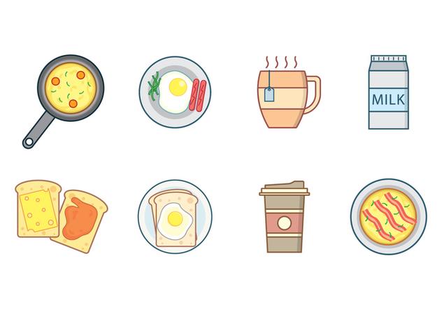 Free Breakfast Vector - vector #407811 gratis