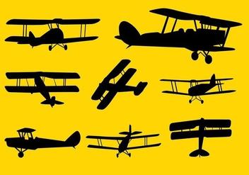Biplane Cessna Vector - Kostenloses vector #408111
