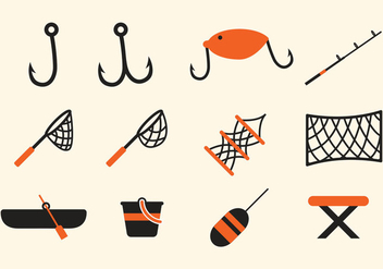 Fishing Icon - Free vector #408221