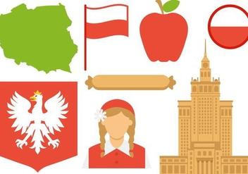 Free Poland Icons Vector - vector gratuit #408481