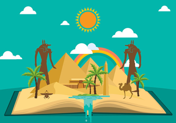 Piramide Story Flat Free Vector - Free vector #408951