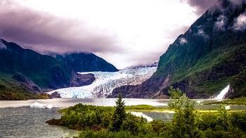 Sleepy Mendenhall Glacier - Free image #409191