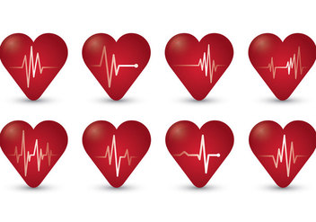 Flatline Symbol Of Heartbeat - Free vector #409791