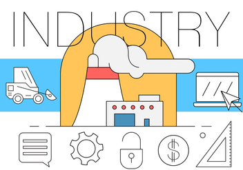 Free Industrial Illustration - Free vector #410021