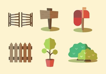 Free Front Yard Vector - Free vector #410171