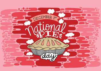 National Pie Day - vector #410761 gratis