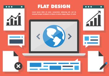 Free Web Design Vector - Free vector #411061