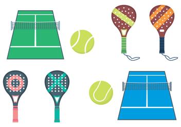 Free Padel Tennis Vector - Kostenloses vector #411151