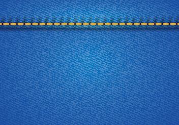 Blue Jean Vector - Kostenloses vector #411231
