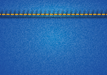 Blue Jean Vector - Free vector #411231