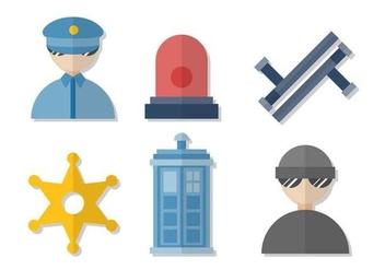 Free Police Vectors - Free vector #411711