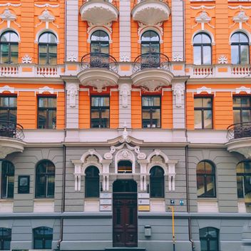 Riga's facades - Free image #411901