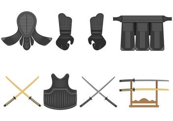 Kendo Vector Icons - Free vector #411981
