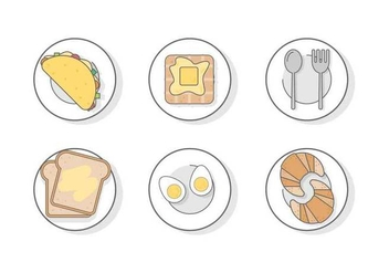 Free Breakfast Vector - Free vector #412281