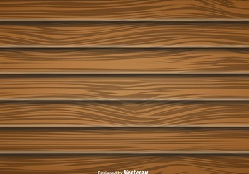 Large Wood Planks Vector Background - Kostenloses vector #412761