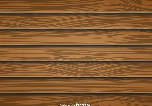 Large Wood Planks Vector Background - Free vector #412761