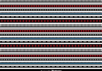 Geometric Lines Vector Background - vector #413221 gratis