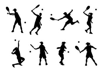 Free Tennis Vector - Kostenloses vector #413441