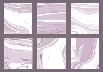 Vector Marble Cards - Free vector #413611