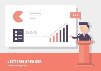 Lectern Speech Background - Free vector #413901
