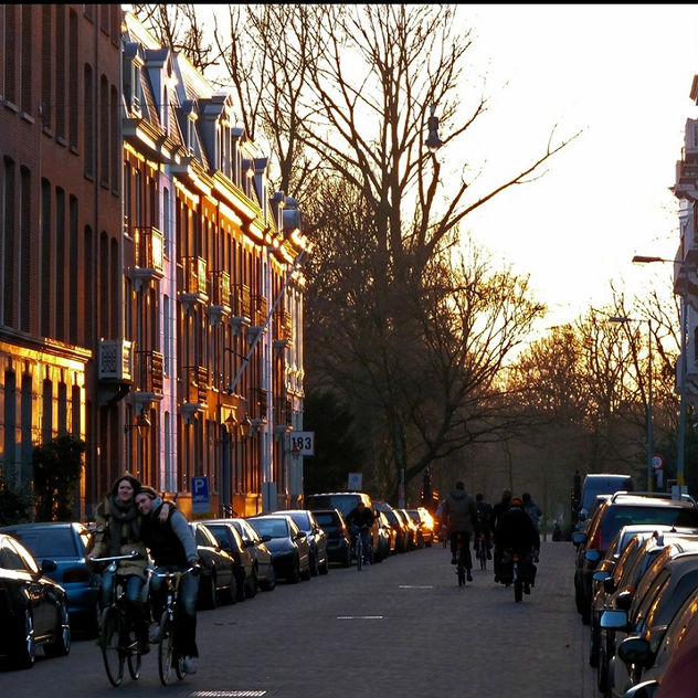 Amsterdam at Golden Hour - Free image #414031