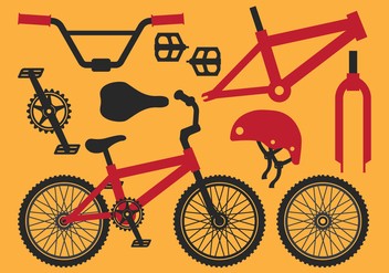 Bicycle Equipment Part - vector #414051 gratis