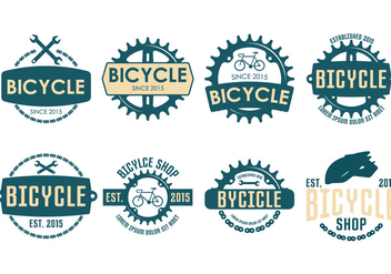 Bicycle Vintage Label - vector #414191 gratis