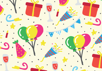 Party Pattern - vector gratuit #414311
