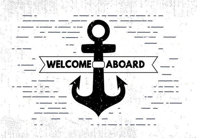 Free Hand Drawn Sail Background - Kostenloses vector #414591