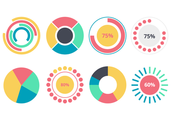 Free Pie Chart Infographic Element - vector #414641 gratis