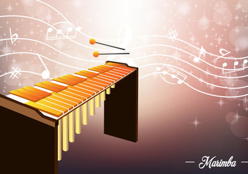 Marimba Template - Free vector #414711