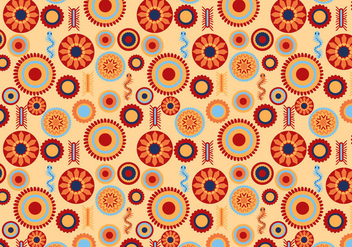 Free Huichol Pattern Vectors - Free vector #414951
