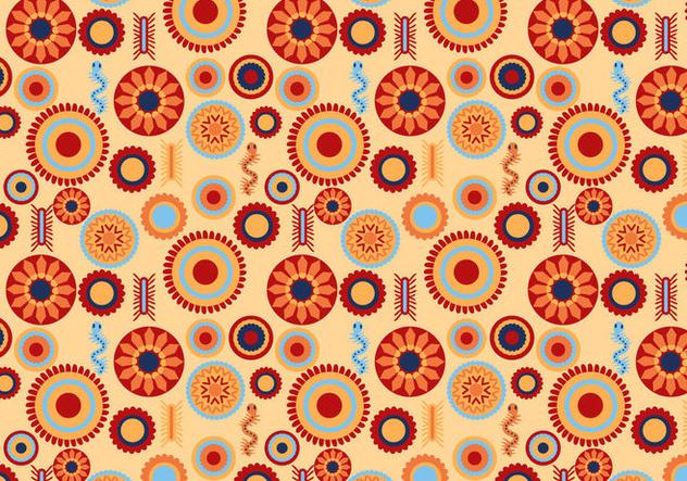Free Huichol Pattern Vectors - vector #414951 gratis