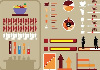 Set Of Infographic Elements - Free vector #415031