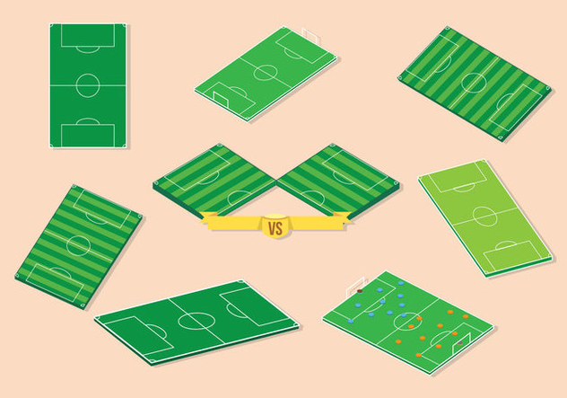 Free Football Ground Vector - Free vector #415041