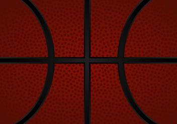 Free Basketball Texture Vector Illustration - Free vector #415551