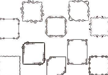 Free Frames Vectors - Kostenloses vector #415621