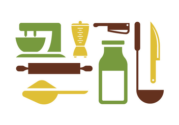 Kitchen Tools pt. 2 - Free vector #415701